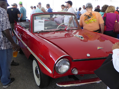 An Amphicar 770 at the Barrett Jackson, West Palm Beach, Florida