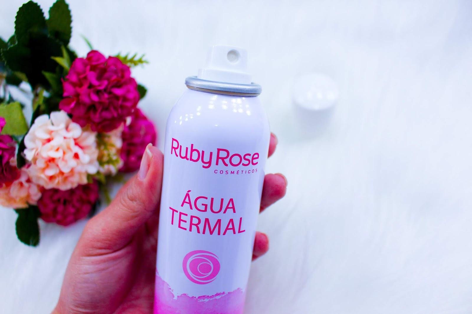 Água Termal da Ruby Rose
