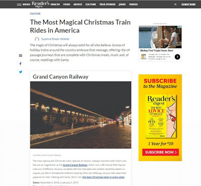 Reader's Digest: The Most Magical Christmas Train Rides in America