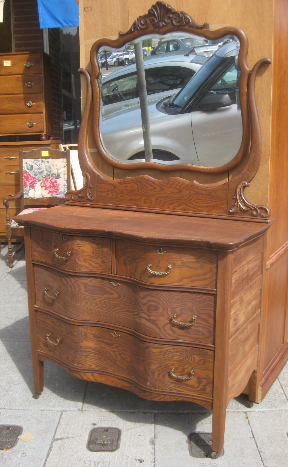 Uhuru Furniture Amp Collectibles Sold Antique Dresser