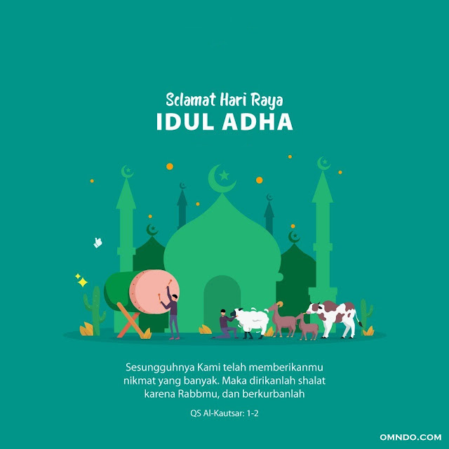 Kumpulan Gambar Ucapan Idul Adha Omndo Com
