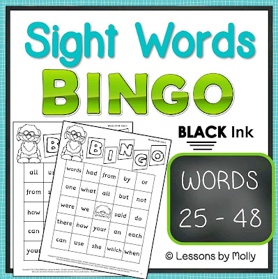 https://www.teacherspayteachers.com/Product/sight-words-BINGO-words-25-through-48-BLACK-ink-354099