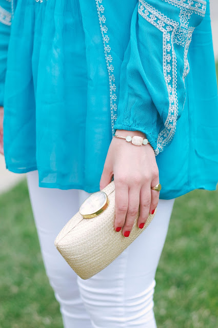 avon cuff and kayu clutch