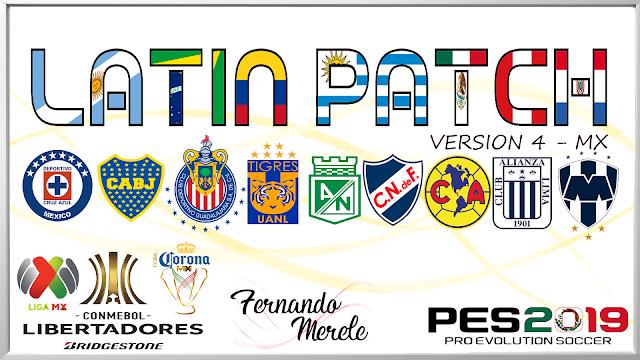 Latin Patch V4.1 | Copa Libertadores | PES2019 | PC