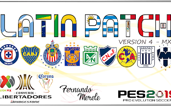 Latin Patch V4.1   Copa Libertadores   PES2019   PC