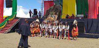 Festival Iraw Tengkayu X di Pantai Amal Tarakan 20191222 - Tarakan Info