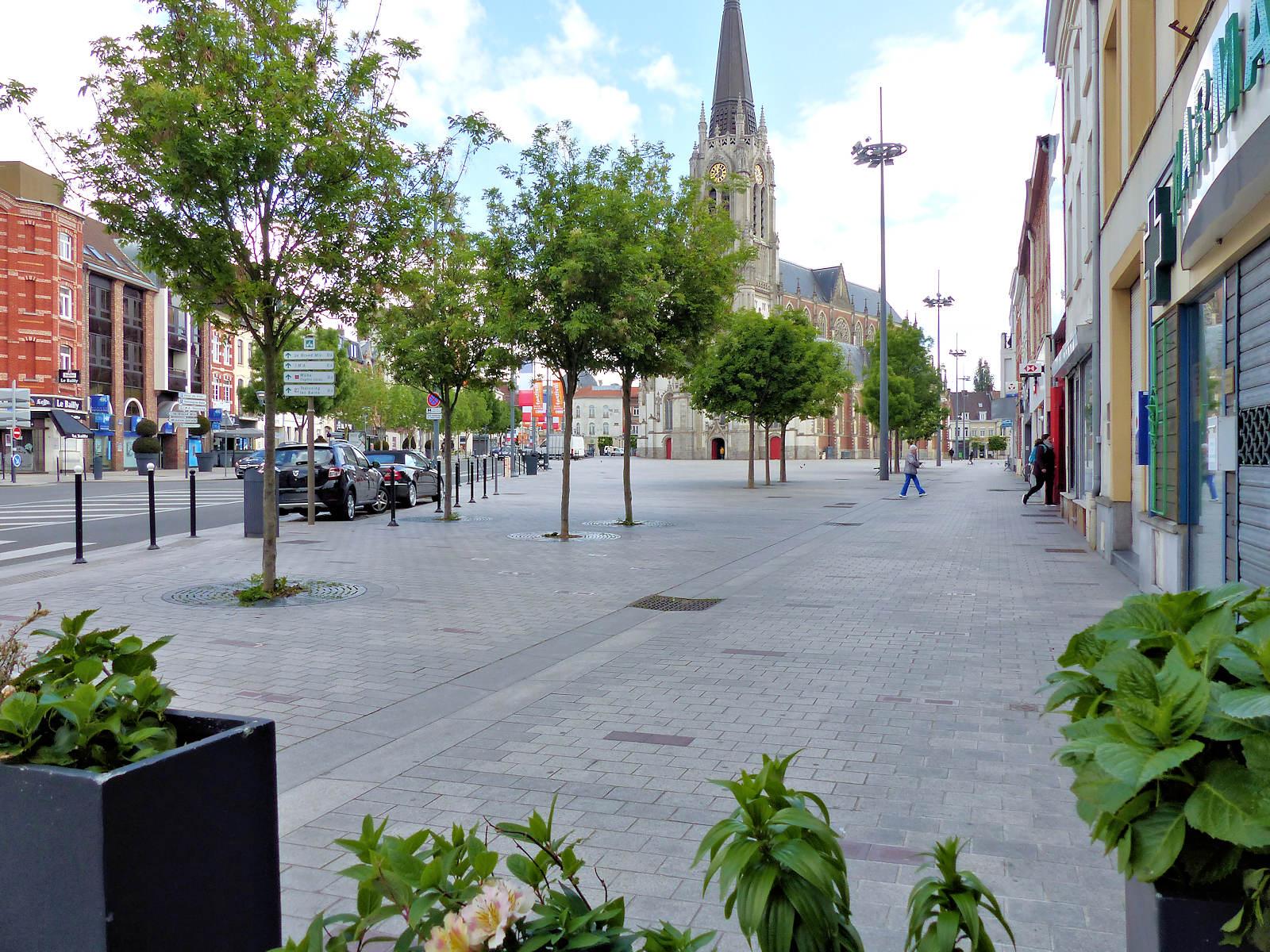 Parvis Saint Christophe, Tourcoing