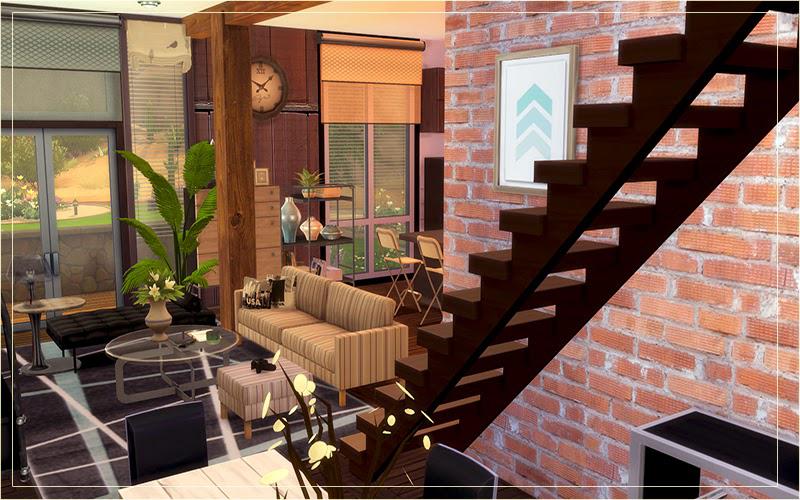 Sims 4 Home Design Part - 46: ... Contemporary Desert House Sims 4 Houses - Sims 4 Home Design ...