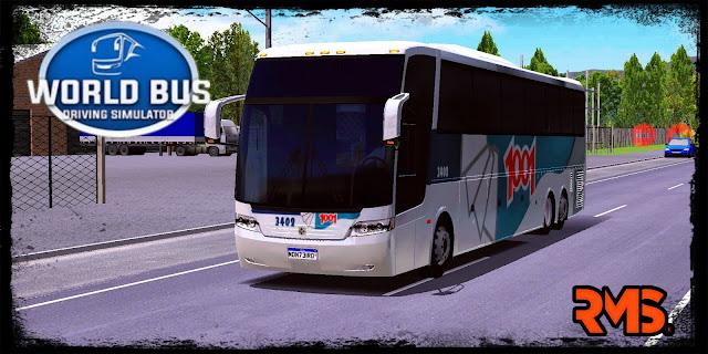 BUSSCAR JUM BUSS 360 - AUTO VIAÇÃO 1001
