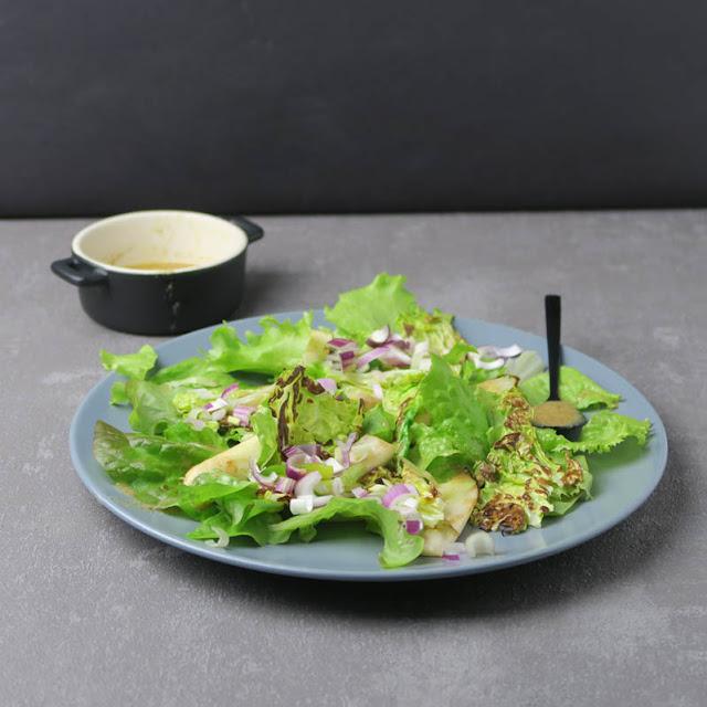 Leckerer Salat mit kalten und warmen Komponenten | pastasciutta.de