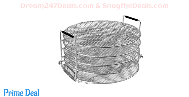 40%OFF Dehydrator racks for air fryer 6qt and 8qt, ninja foodi air fryer