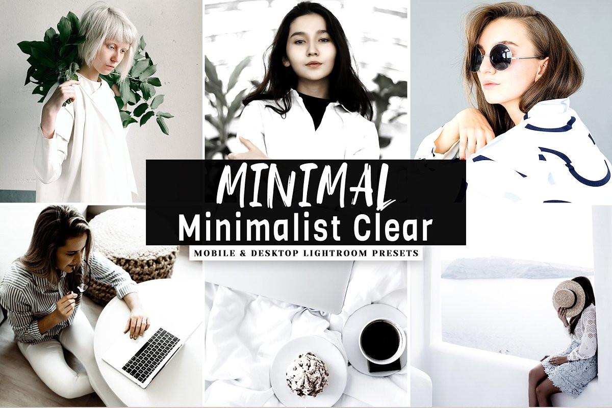 [Chia sẻ Preset Free] Minimalist Clear Lightroom Presets