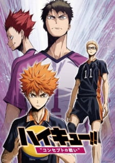Haikyuu!! Movie 4,3,2,1