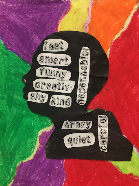 character traits art for kids