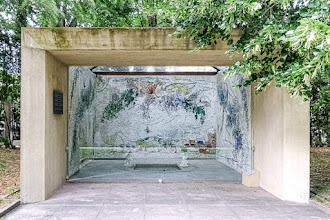 Ailleurs : Cour Chagall, une œuvre exceptionnelle à découvrir dans le Parc de sculptures de la Fondation Pierre Gianadda à Martigny - Suisse