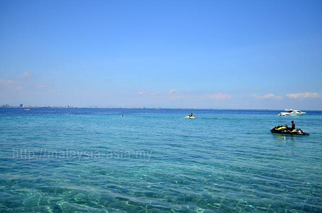Samalona Island Beach