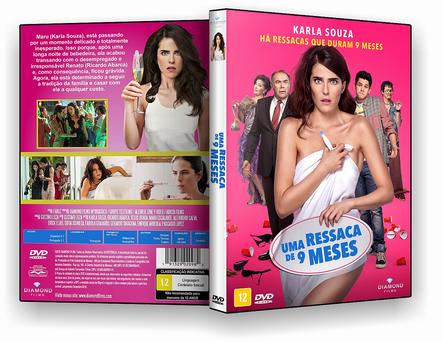 CAPA DVD – Uma Ressaca De 9 Meses – AUTORADO