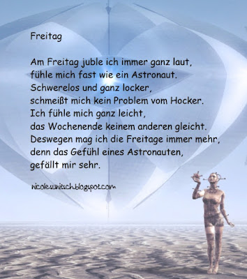 Image result for Freitag Gedicht