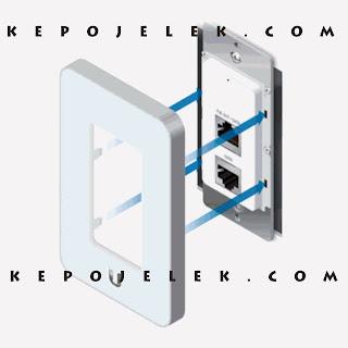 Cara Installasi Hardware dan Setting UAP In-Wall