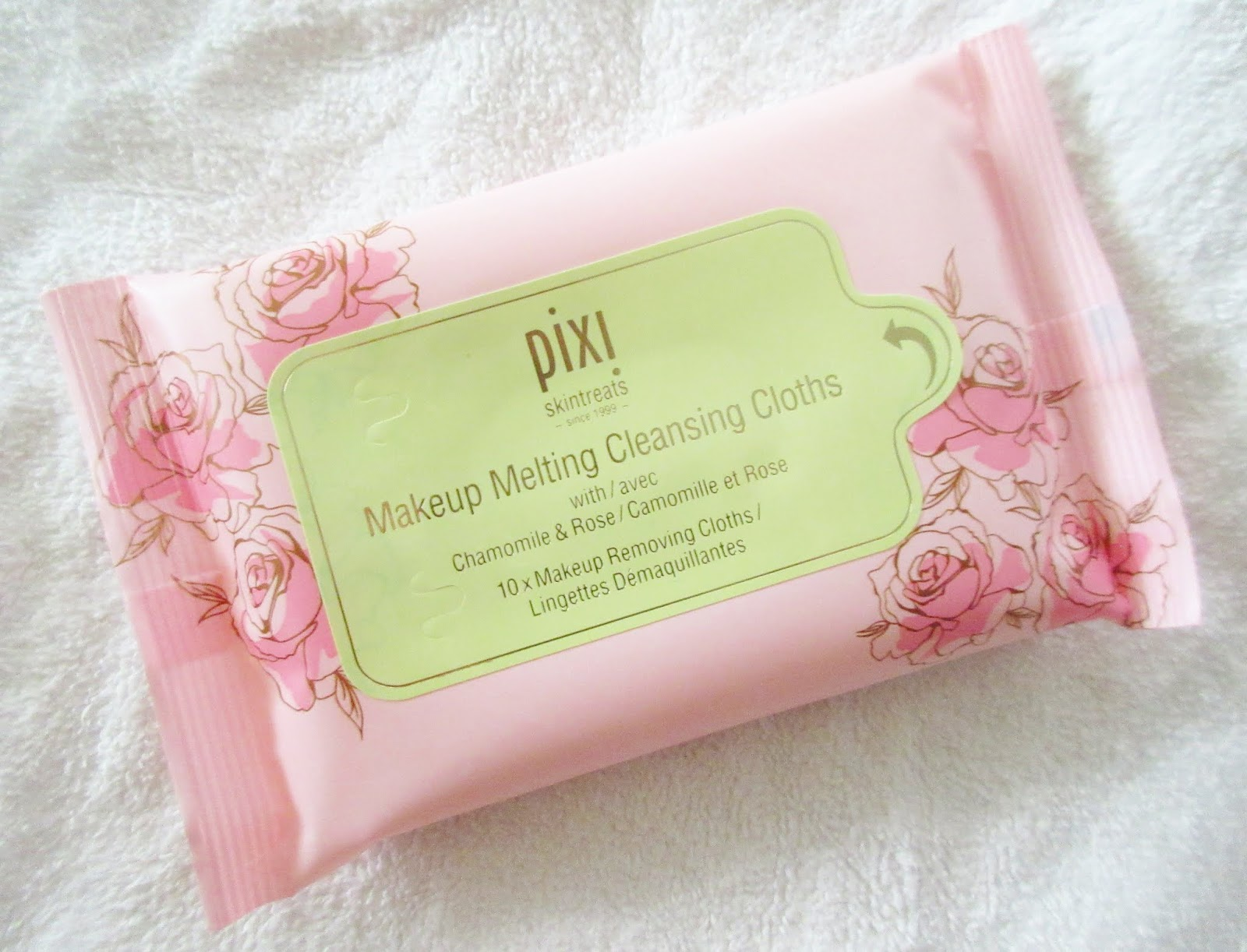 Pixi Makeup Melting Cleansing Cloths Review
