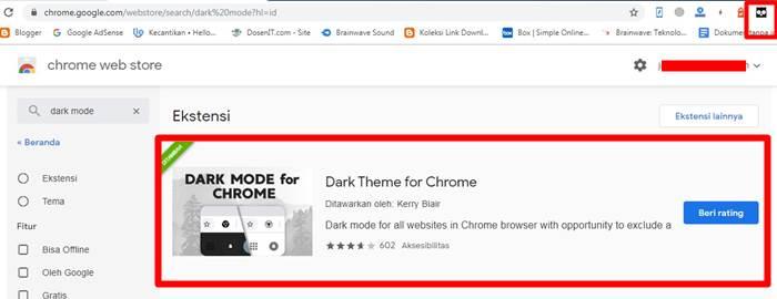 Dark Mode Cara Mengaktifkannya di Semua Halaman Situs Web