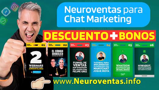 ♦ Qué aprenderé con Neuroventas para Chat Marketing?