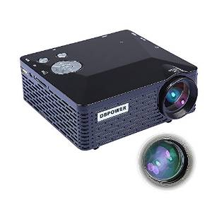 DBPower Portable Projector Mini LED with USB