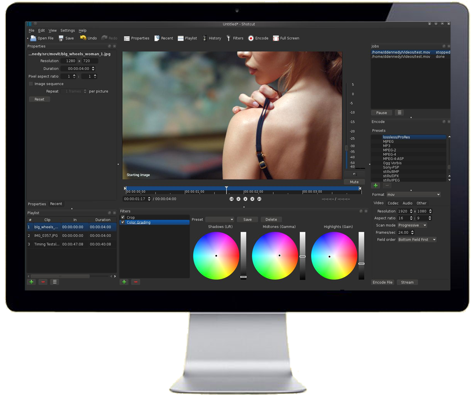 free movie editing software for windows no watermark