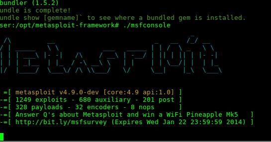 Installing Metasploit on Debian (or Ubuntu)
