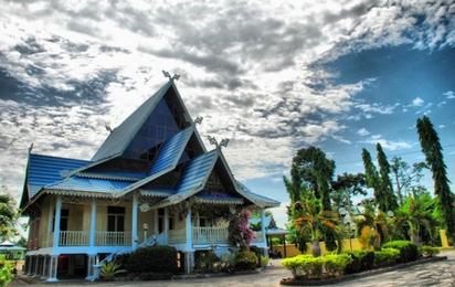Rumah Adat Melayu Bengkalis