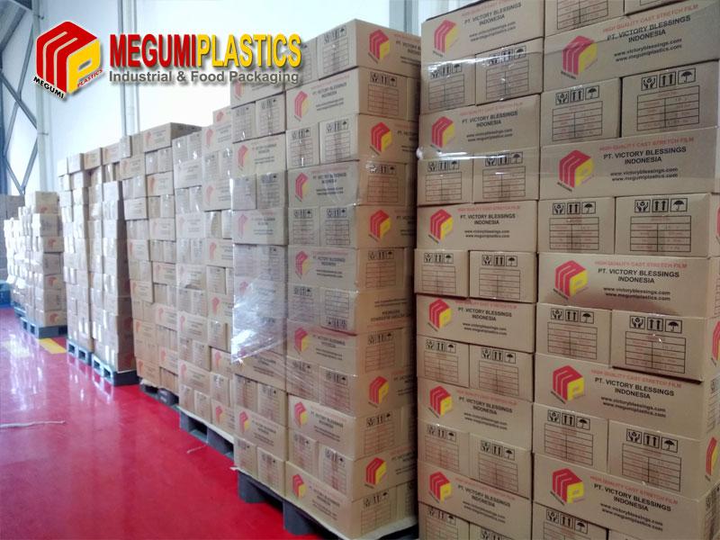 Gudang plastik wrapping megumiplastics