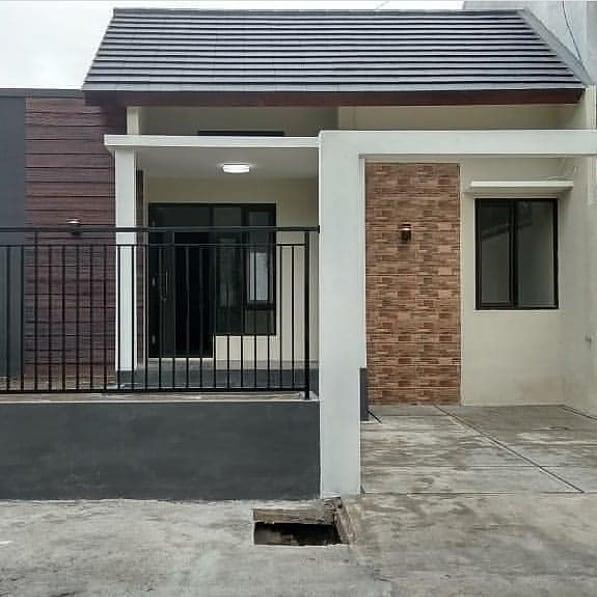 rumah sederhana memakai garasi