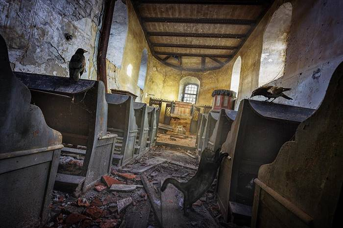 Fantastic shots of abandoned photography  by Markus Ecke Wie Kante