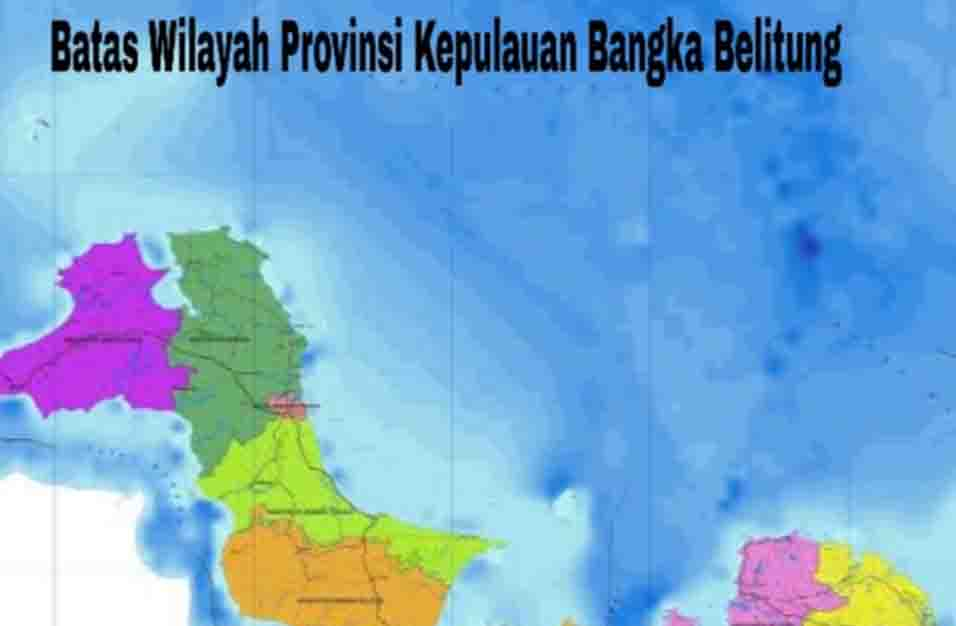 Batas Wilayah Bangka Belitung