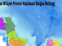 4+ Batas Wilayah Provinsi Kepulauan Bangka Belitung