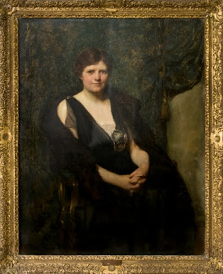 Lady Rhondda by Solomon J Solomon -credit Private Collection