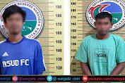 Bandar Sabu Digelandang Unit Narkoba, Satu Diantaranya Oknum Pegawai PLN