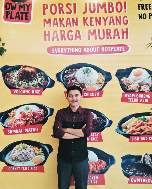 Ow My Plate Bukittinggi Review by Blogger Padang Sumatera Barat Aul Howler