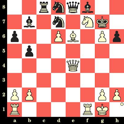 Les Blancs jouent et matent en 4 coups - Magnus Carlsen vs Victor Hansen, Helsinki, 2002