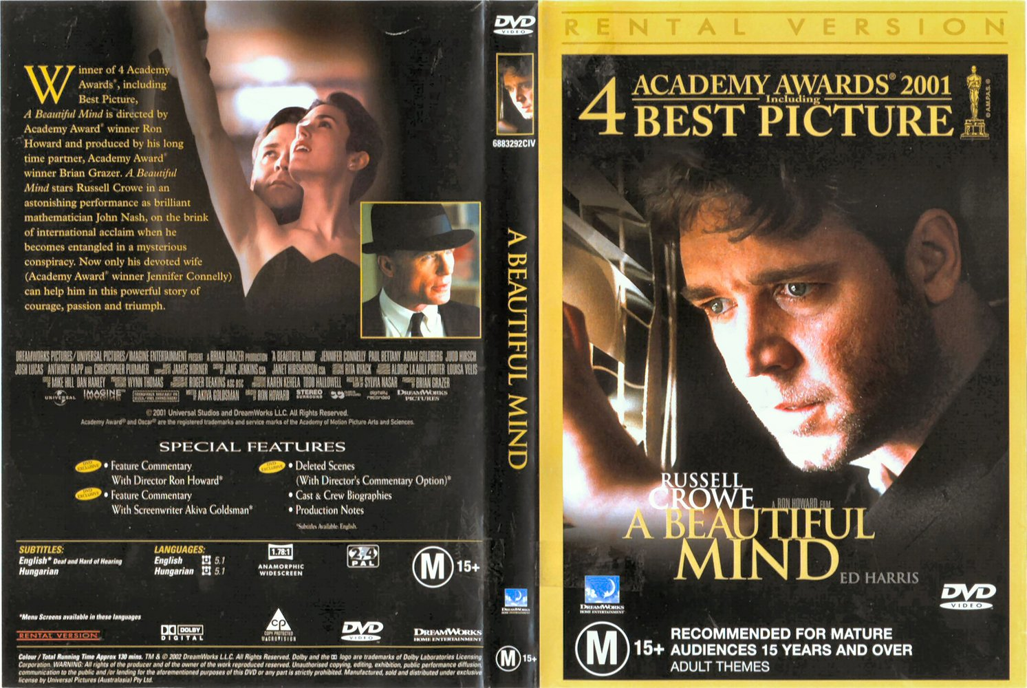 Mind Beautiful dvd cover catalog photo