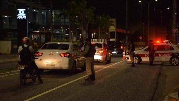 Mais de dez pessoas são presas por descumprirem toque de recolher em JP e no Sertão
