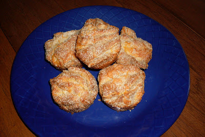 Layers of Cheese in a delicious biscuit muffin.