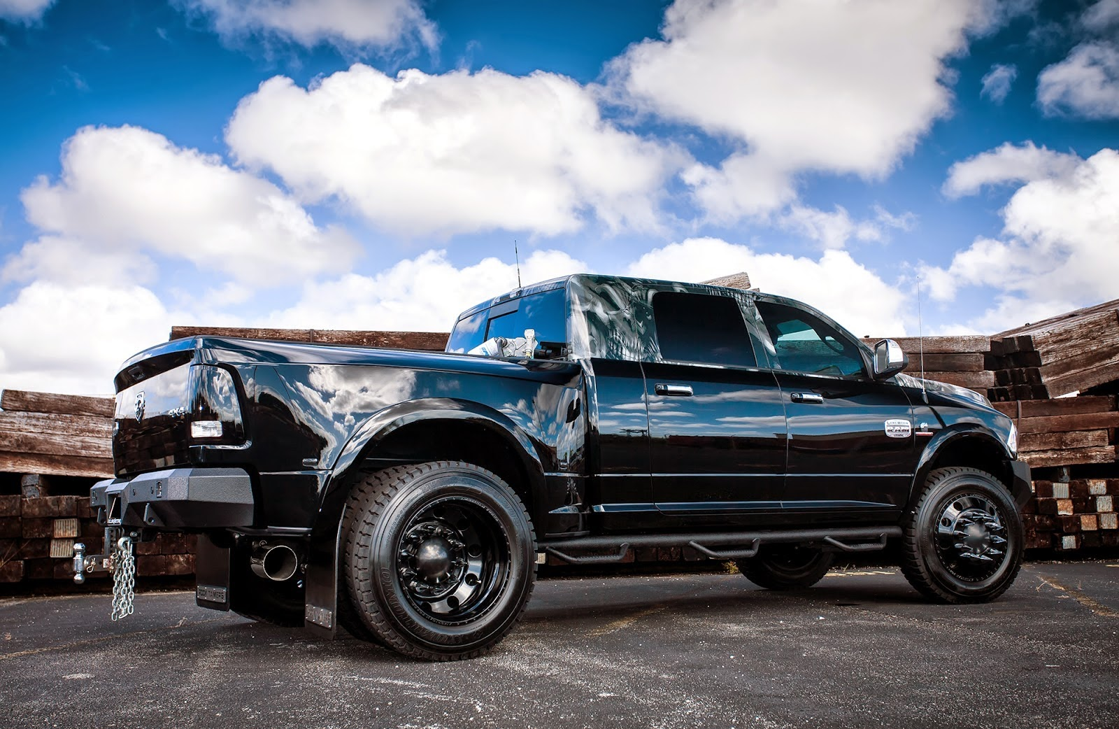 Cars Tuning Music Dodge Ram Longhorn 3500 Dually By