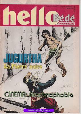 Hello-Bédé, numéro 1, 1991, JUGURTHA