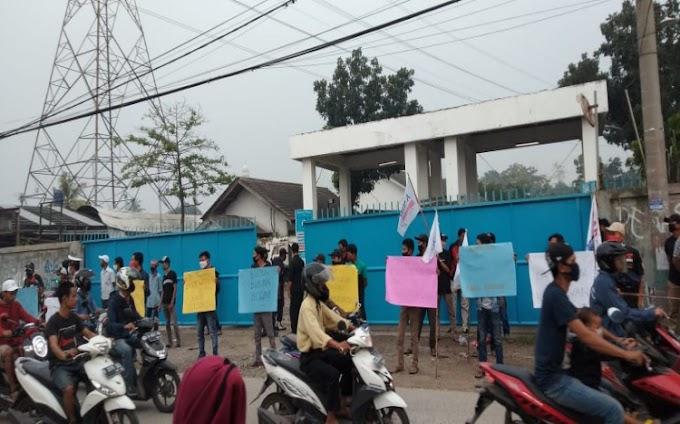 Dirumahkan dan Gajinya Tak Dibayar, Buruh PT KPS Kembali Lakukan Demo