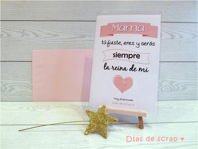 Postal para el Día de la madre