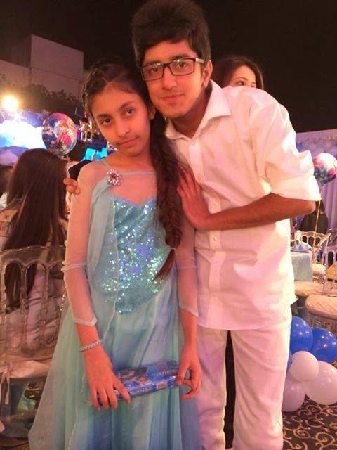 Nida Yasir Daughter Sila S Birthday Beautiful Pictures