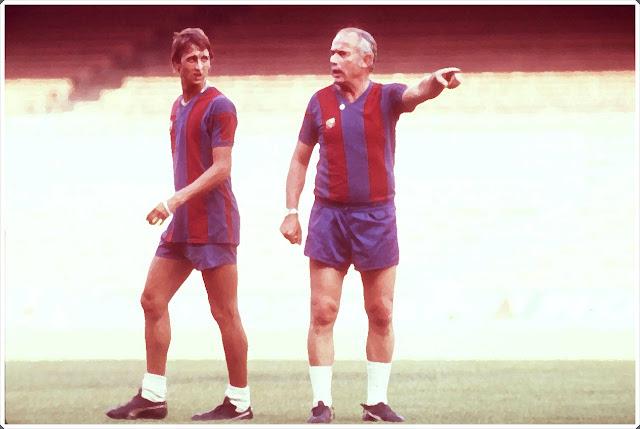 Johan Cruyff Hennes Weisweiller Barcelona