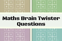 Brain Twister Maths Puzzle Questions