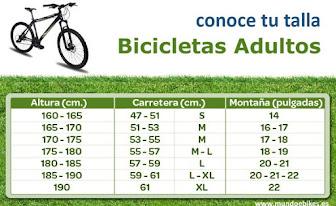 Claves para elegir una bicicleta.